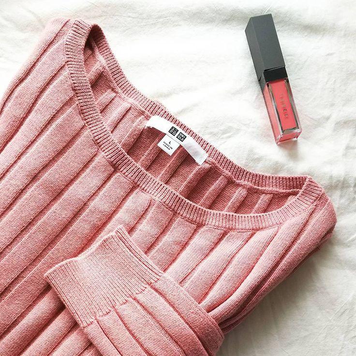 「《¥2990》UNIQLO・コットンカシミヤワイドリブセーターが大人女子の必携アイテム」に含まれるinstagramの画像 MERY [メリー]
