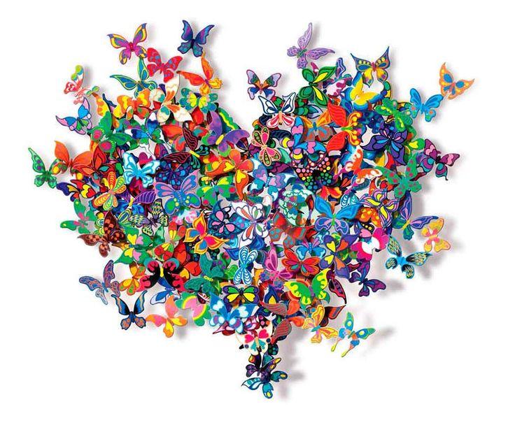 My heart is all a flutter #4 Mini (42/55) (Aluminium) par David Kracov, artiste présentement exposé aux Galeries Beauchamp. www.galeriebeauchamp.com