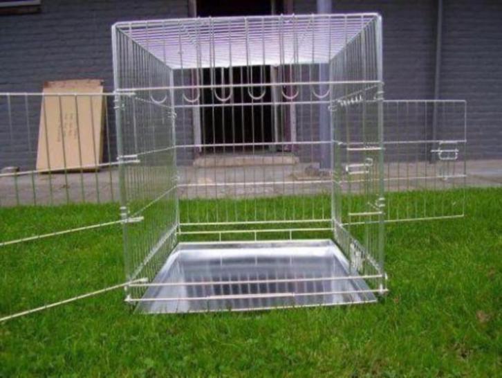 Hondenbench Bench Zink Groot XXL Nieuw (107-75-84 cm)
