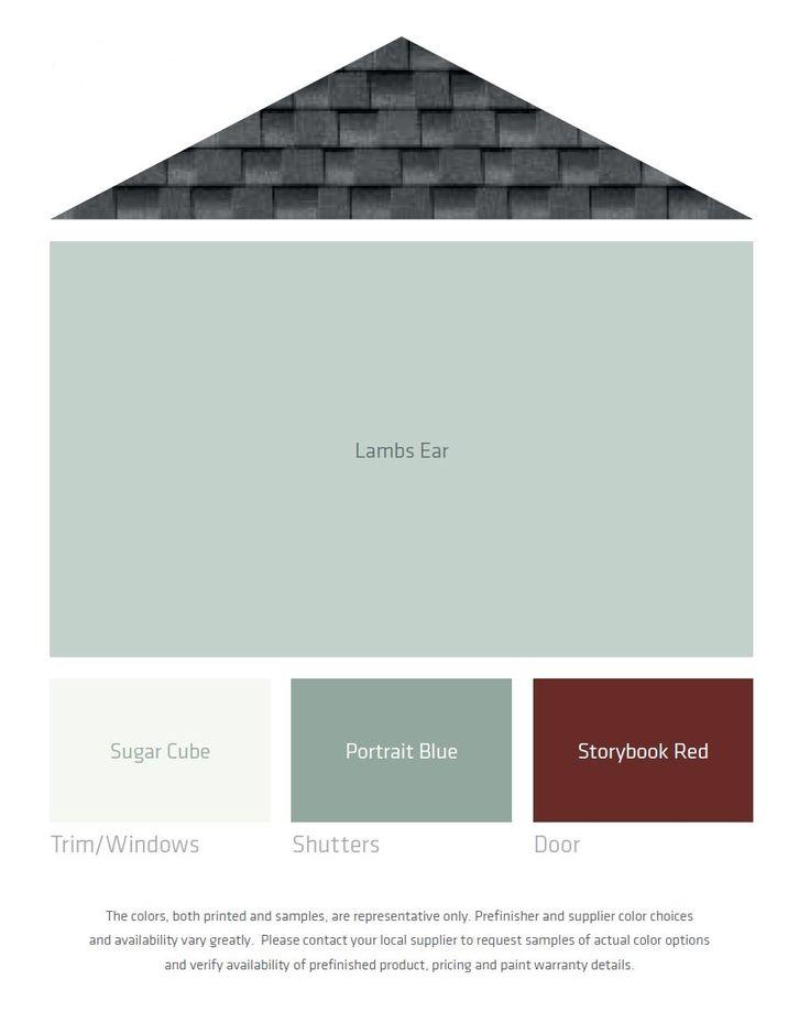 49 best color palettes textures images on pinterest for Lp smart siding colors
