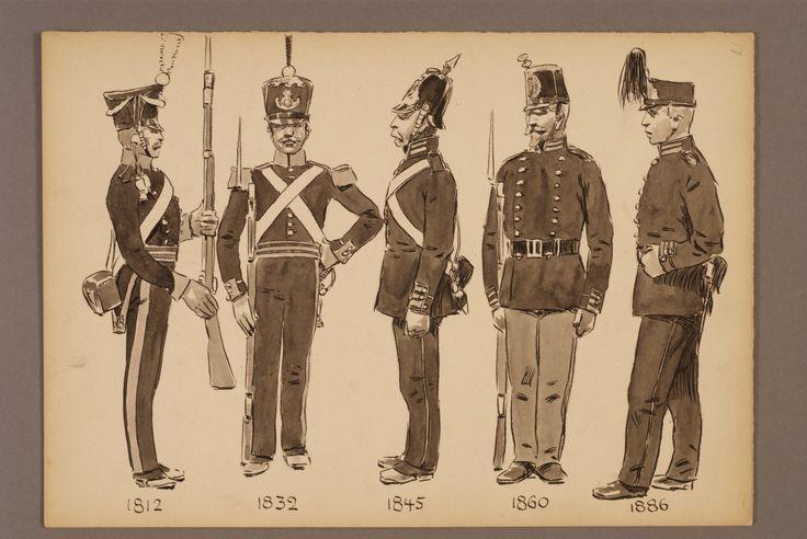 The  grenadier corps of Småland 1812-1886 by Einar von Strokirch