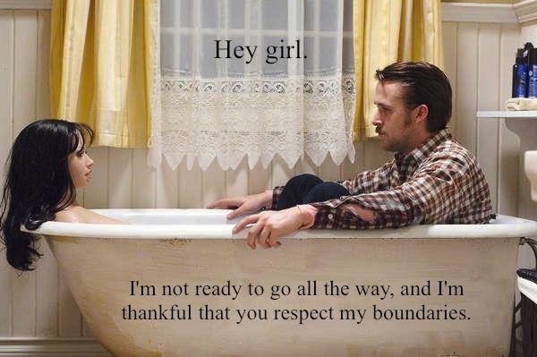 Celebrating Valentine's Day with Feminist Ryan Gosling (aka the best Ryan Gosling meme of them all). #ryan_gosling