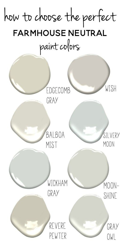 Suggestions For Selecting Paint Colours | How To Decide On Paint Colours | Farmhouse Paint Co…