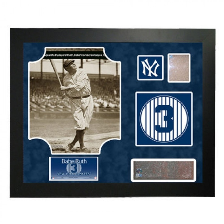 Steiner Sports MLB Retired Number Babe Ruth Framed Collage - New York Yankees - GU08NYYMPBNBR8F