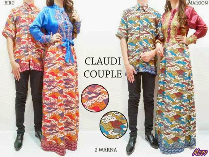 Busana Muslim (GAMIS) - Claudi Couple Kode Baju : M289 Harga : 205,000 IDR Model Pakaian : Claudi Couple Jenis Bahan : Satin + Batik (No-Inner) Ukuran : (Free Size / Fit to L) --- Contact : Deni - 083815838155/768FF8FA