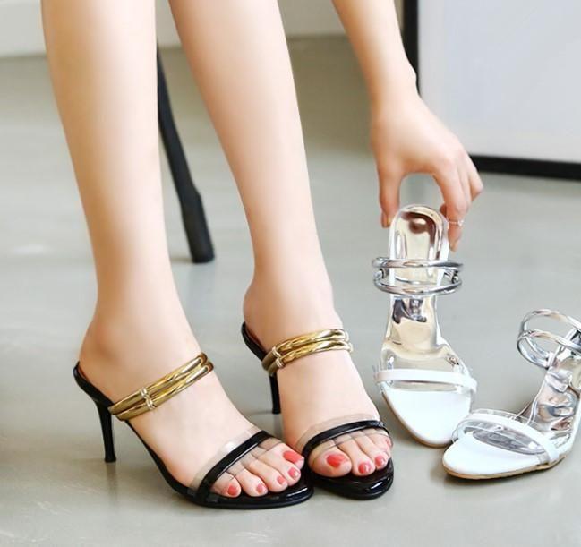 Women's Little Feet Slip On Strap Open Toe Dress Sandals SS25   Dress  sandals, Sandals, Open toe