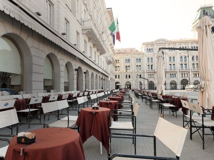 Favorite hang out in Trieste Italy. Home of Illy Caffè.