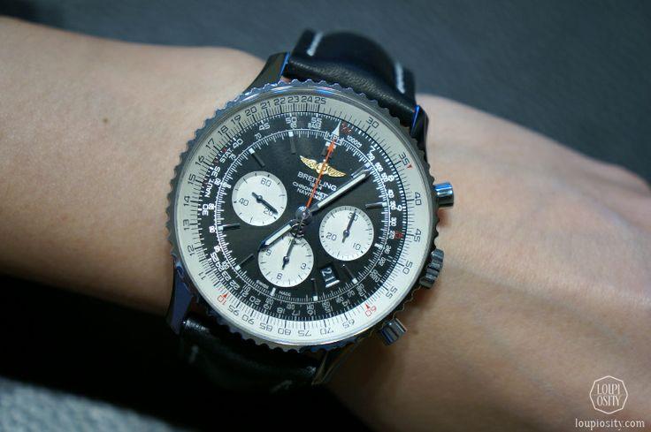 Breitling Chronometre Navitimer 01 #LesAmbassadeurs #Zurich
