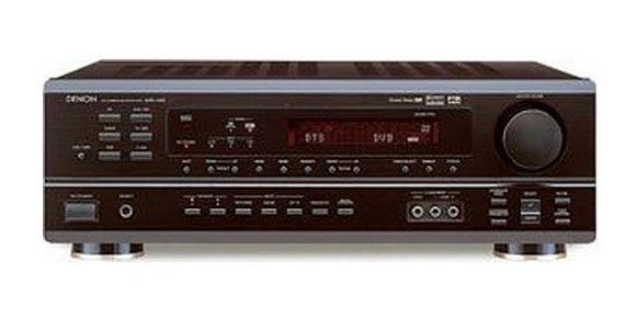Denon AVR-1403 Home theater receiver with Dolby Digital  This is the absolute best-sounding receiver I ever owned (including: Yamaha, Onkyo, Sony