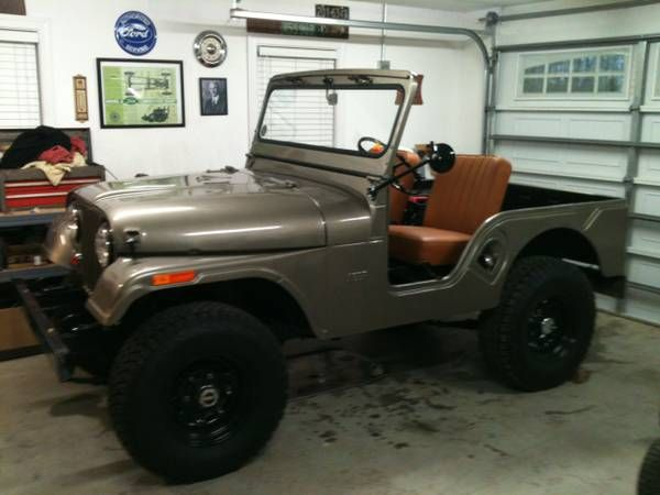 1963 Willys Jeep Cj5 All New Tub Fenders Paint