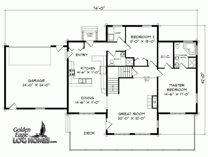 small cabin floor plans view source more log cabin ii floor plan house plans pinterest house plans home design and log houses - Cabin House Plans