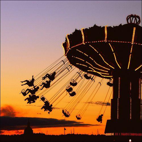 Gröna Lund, Stockholm, Sweden - I have to go back to do this...
