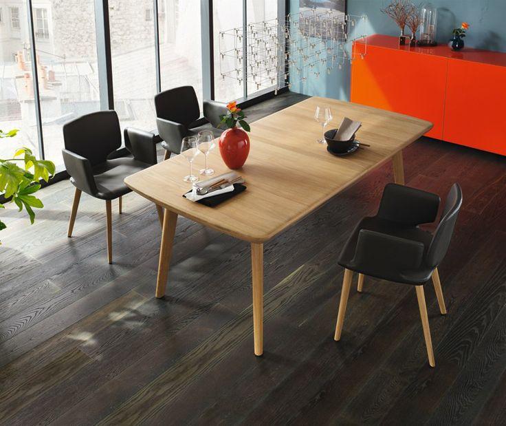 TEAM 7 Flaye Table Wood - The Mattress & Sleep Company