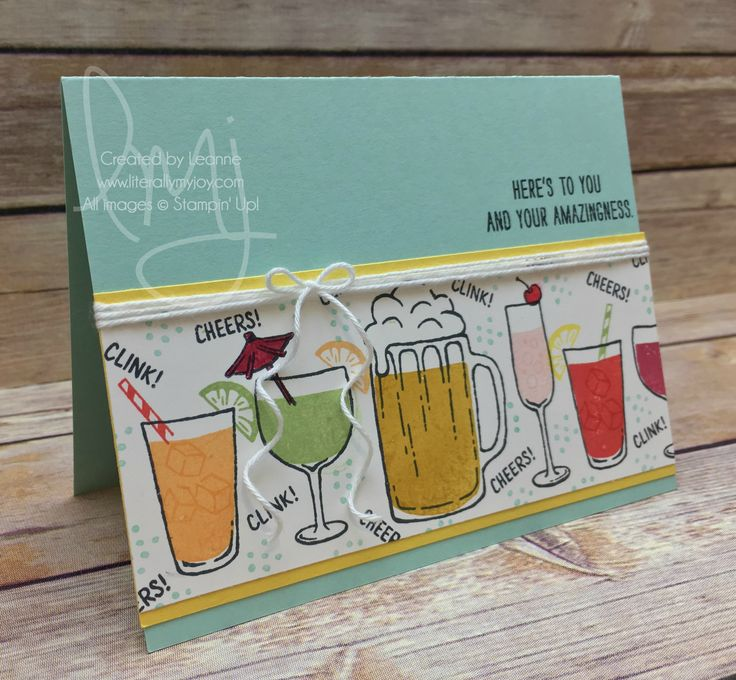 Mixed Drinks - Stampin' Up!