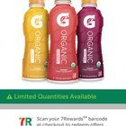 Free Gatorade organic through 7-Eleven rewards app. Expires 1/3/17