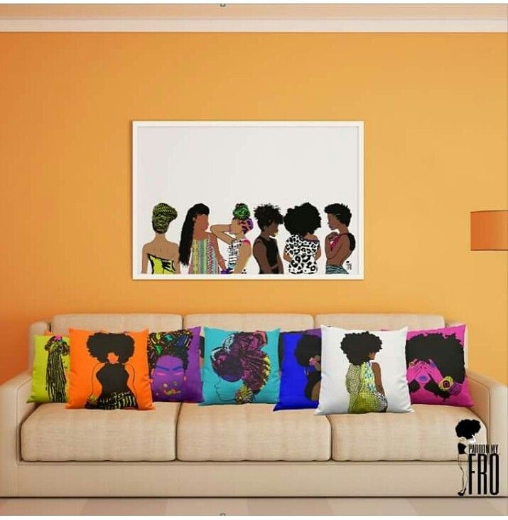 Afrocentric home decor