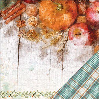 Papper Paper House - Autumn Woods - Pumpkin Spice