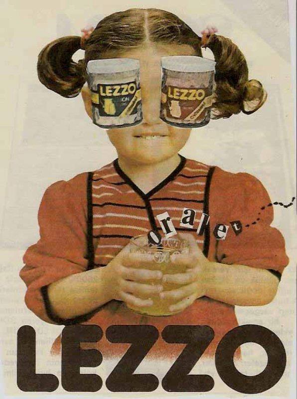 1980ler Lezzo Reklam Afişi