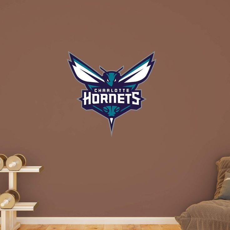 Fathead NBA Charlotte Hornets Logo Wall Decal - 62-62272