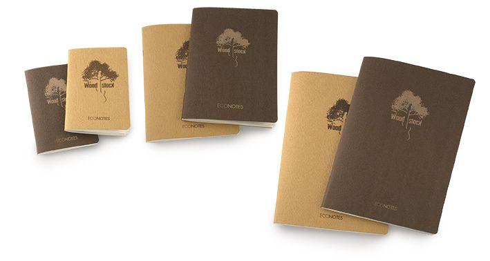 Ciak Firenze - Agende e diari con elastico orizzontale, Ecological notebooks and diaries, Made in Italy al 100%, Taccuini, Stationery