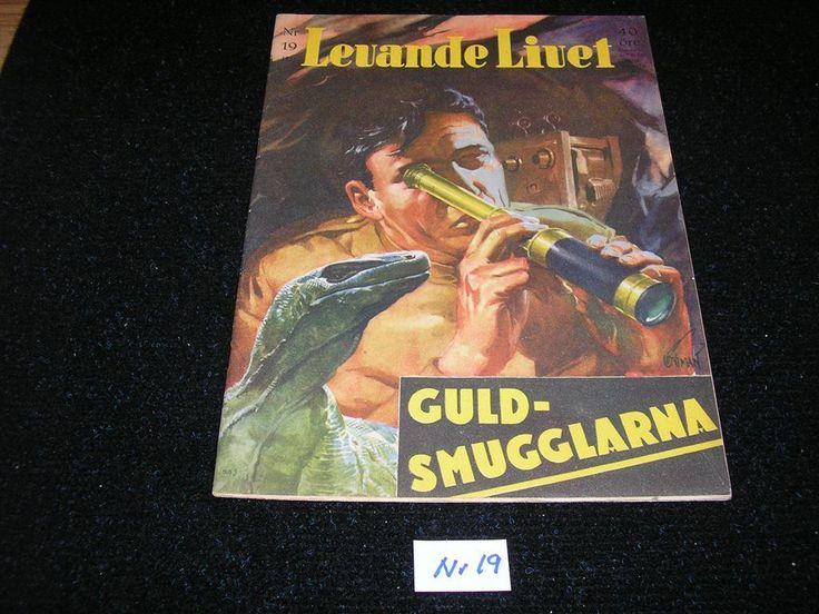 Levande Livet nr 19 år 1951. Toppex Framsida av Allan Löthman