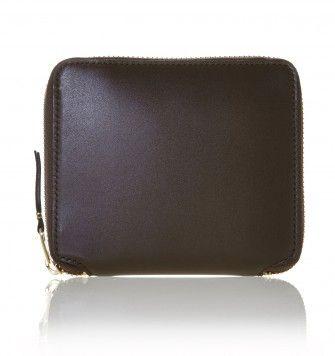 COMME DES GARÇONS WALLETS FULL ZIP SA2100 WALLET. Brown. £119.00