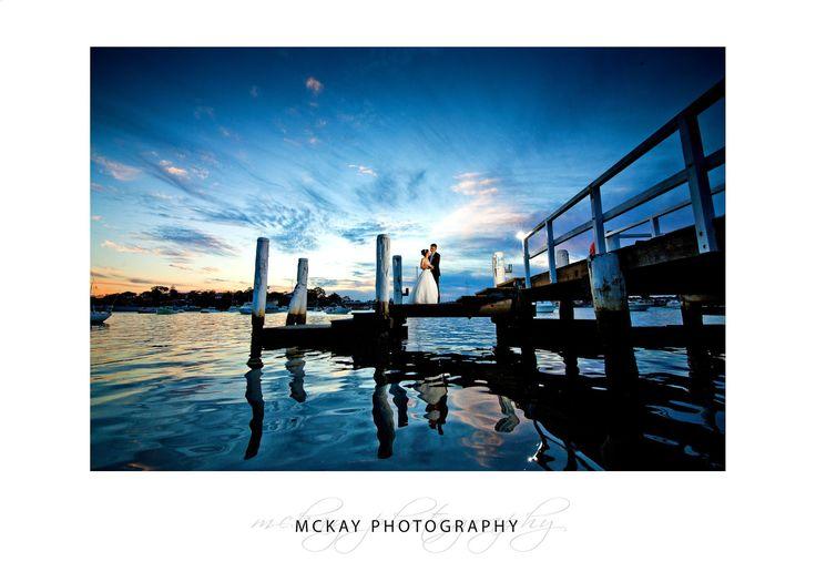 Sunset photo at Le Montage in Sydney  #wedding #lemontage