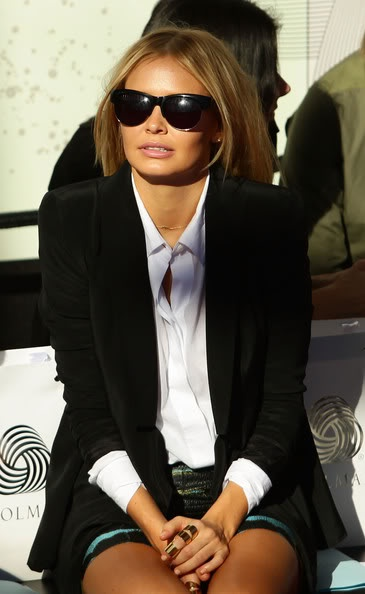 Lara Bingle - great hair #Australia #celebrities #LaraBingle Australian celebrity Lara Bingle loves http://www.kangafashion.com