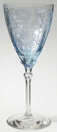 """""""Versailles Blue"""" from Fostoria."""