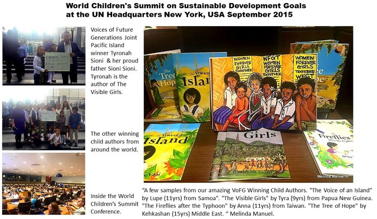 U.N. World Children's  Summit September 2015