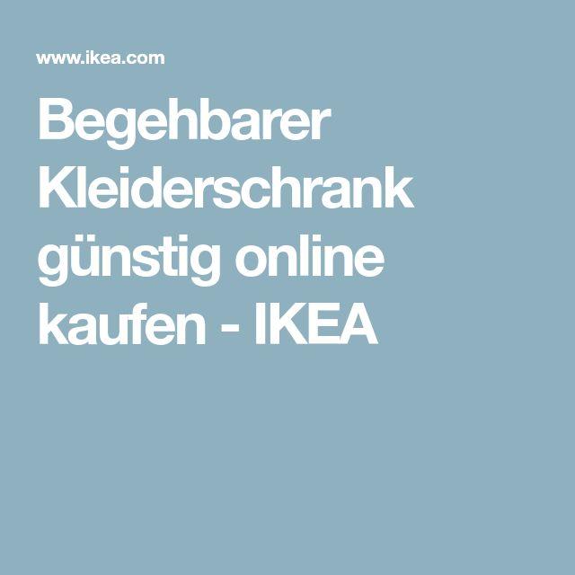 Begehbarer Kleiderschrank günstig online kaufen - IKEA
