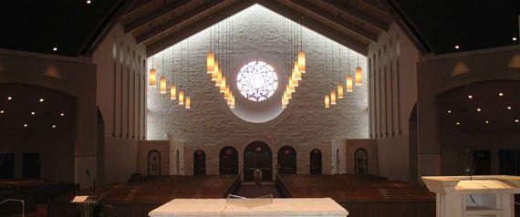 St. John Vianney in Houston (Ali's bf's sister got married here)