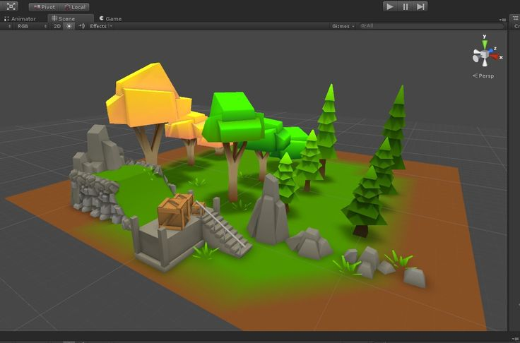 Low Poly Scene