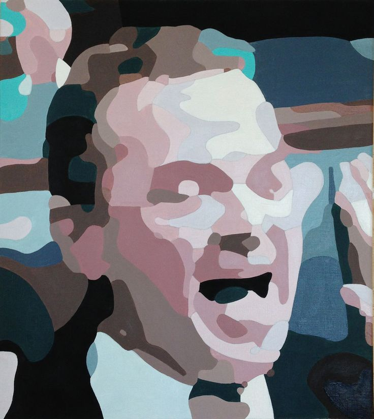 Christopher Pyne oil on canvas.