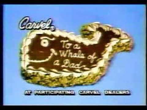 Carvel Ice Cream cake commercial for fathers day