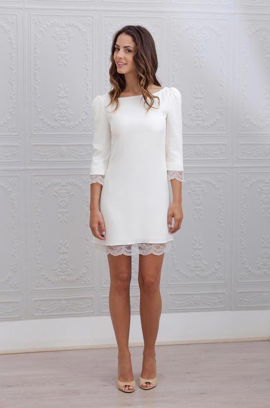 Robe blanc boheme chic
