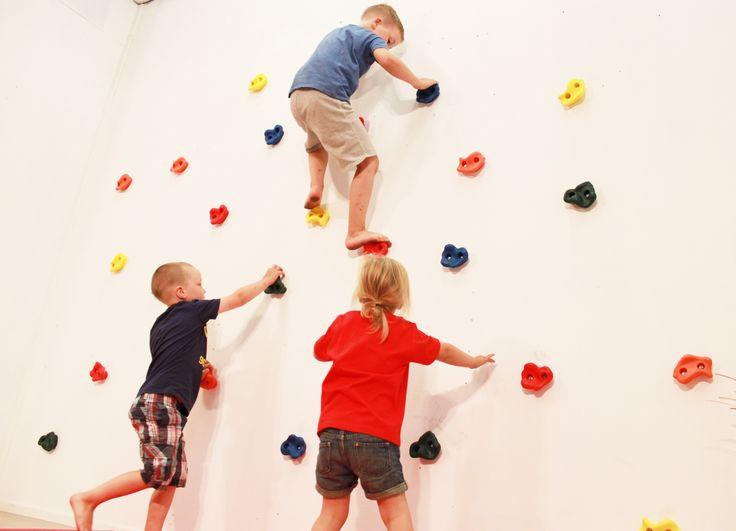 Kiipeilyseinä lapsille