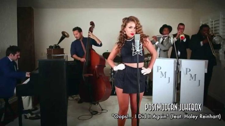 Oops!... I Did It Again - Vintage Marilyn Monroe Style Britney Spears - Postmodern Jukebox