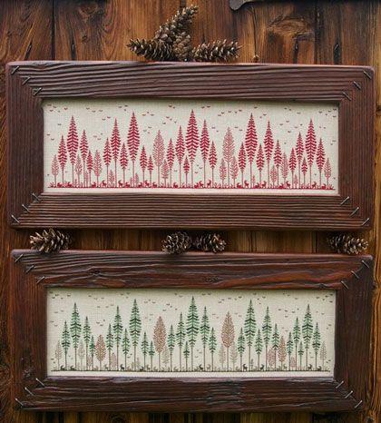 Aria di Bosco From Renato Parolin - Cross Stitch Charts - Embroidery - Casa Cenina
