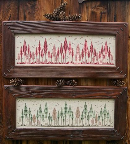 Aria di Bosco From Renato Parolin - Cross Stitch Charts - Embroidery - Casa Cenina