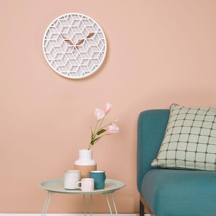 17 meilleures id es propos de horloge murale vintage sur for Decoration murale ronde