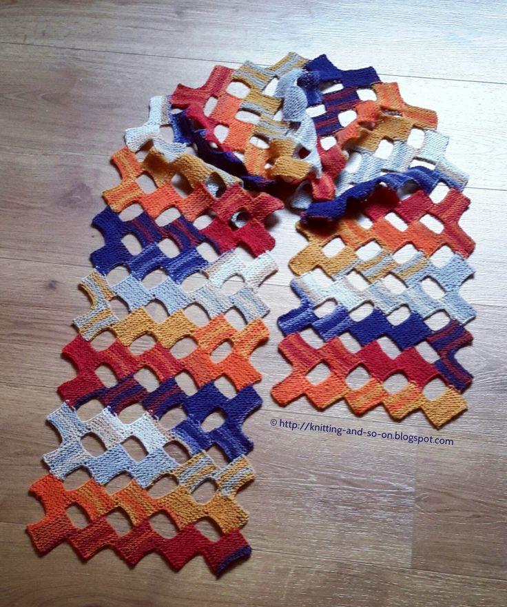 Free Knitting Pattern: Small Rectangle Scarf (Kn …