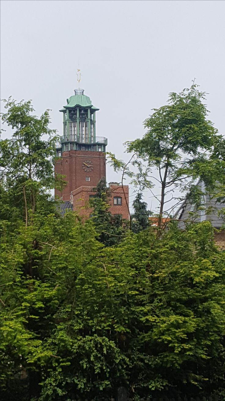 Frederiksberg Town Hall from Frederik VI Allé.