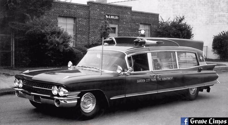 1961 Cadillac Superior Royale Rescuer Ambulance Garden City Park Fire Department Ny Cadillac