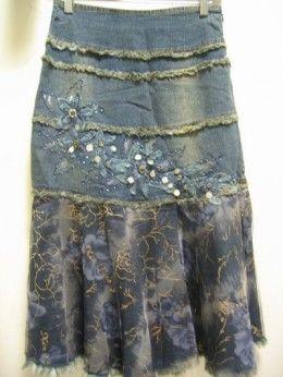 pentecostal jean skirts