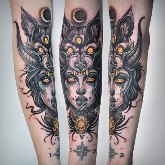 Art Inspired Tattoos By Jessica Ann White | Tattoodo