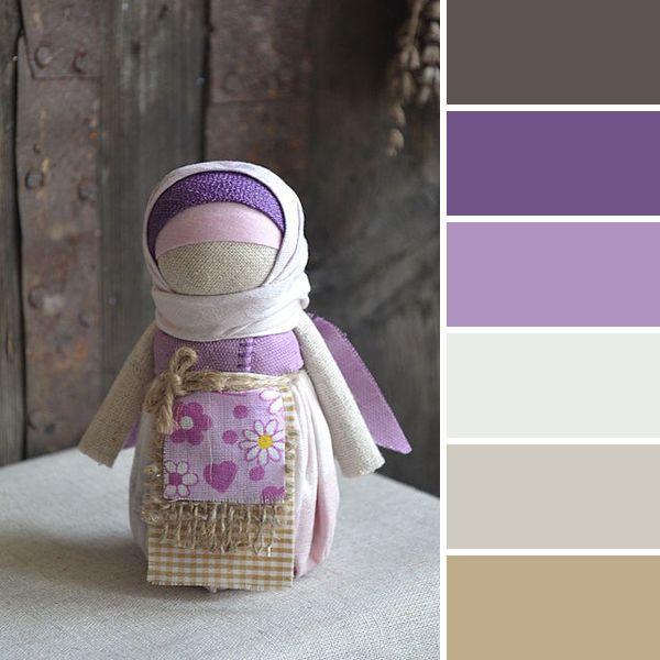 Весне дорогу: 15 вдохновляющих цветовых палитр от мастеров портала - народная кукла