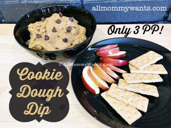 Weight Watchers Cookie Dough Dip - 3 Points