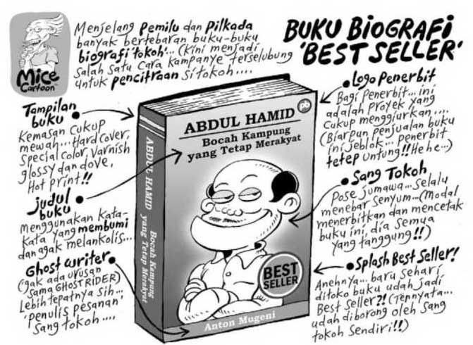 Mice Cartoon; Buku Biografi 'Best Seller'