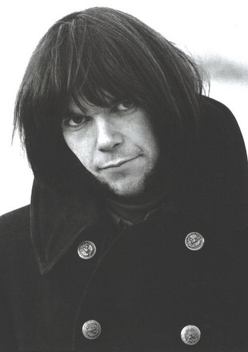 neil young in a pea coat... 1967